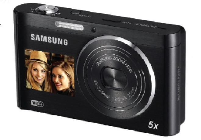 Samsung DV300F. Aparat do Facebooka