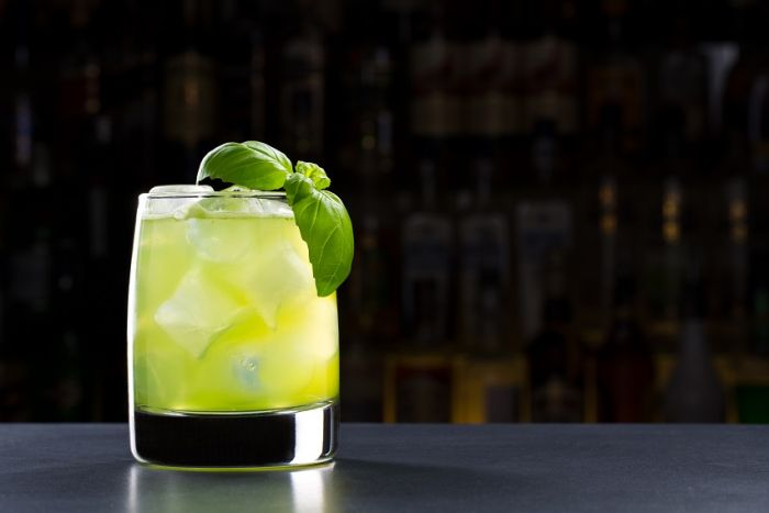 Drink Gin basil smash